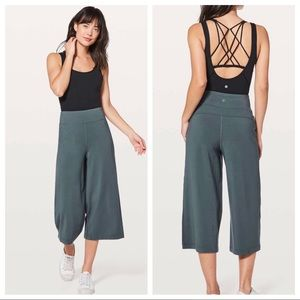 NEW! Lululemon Blissed our Culottes crop pants